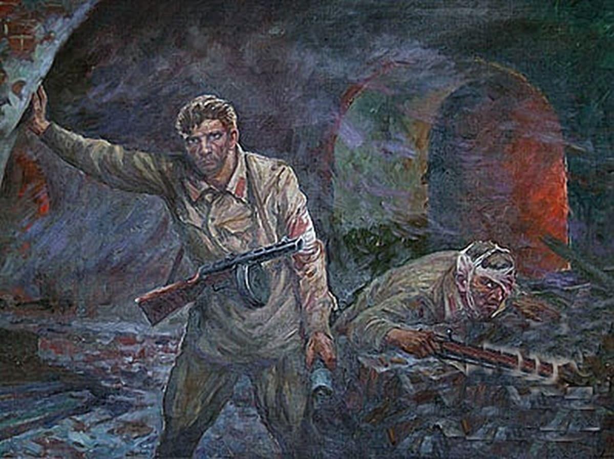 В июле 1941 года сопротивление в Брестской крепости продолжалось