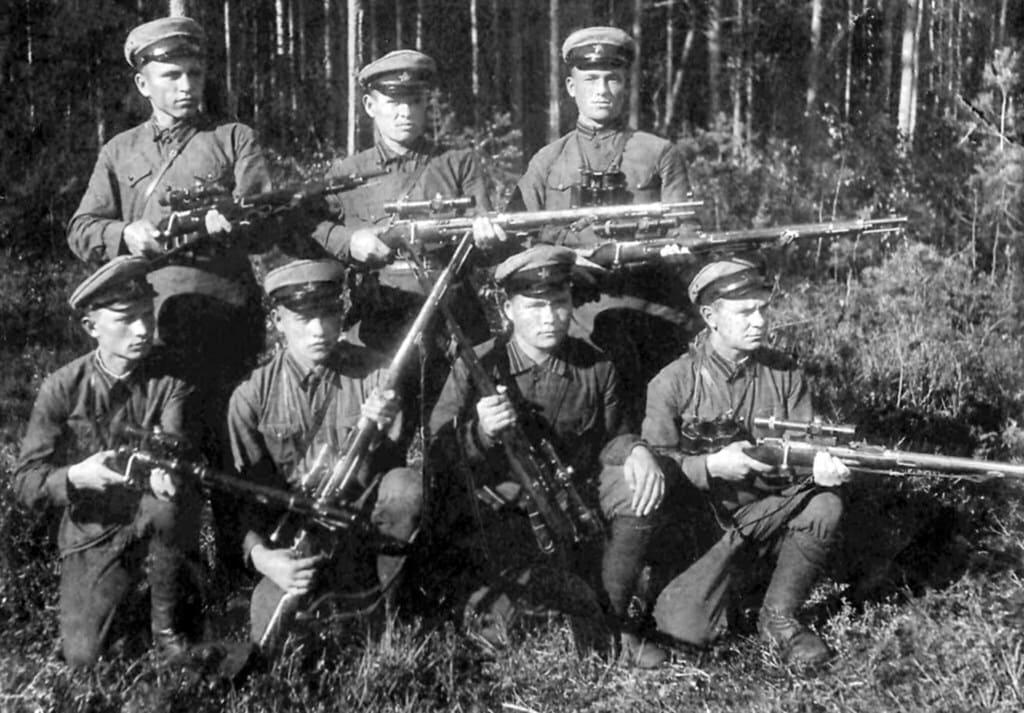 Пограничные снайперские группы