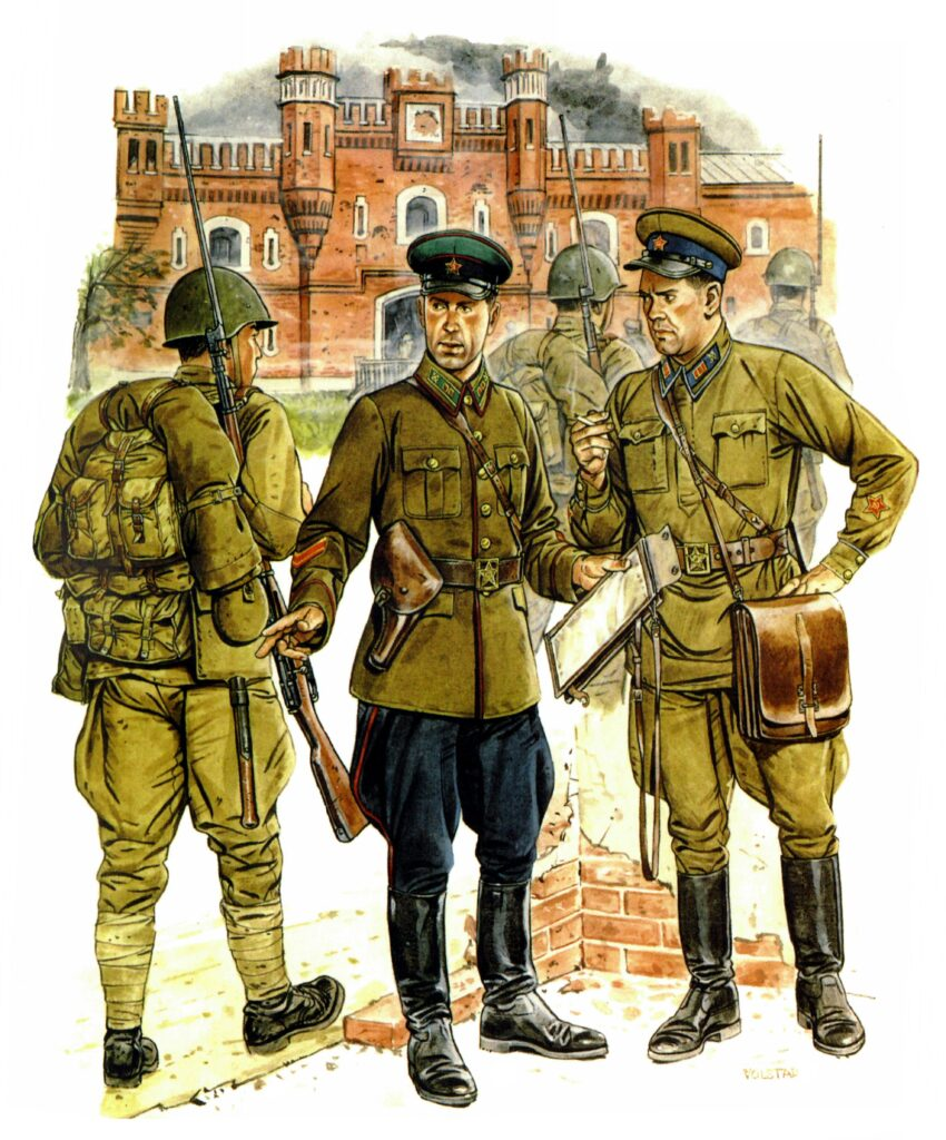 В Бресте размещалось несколько крупных частей НКВД