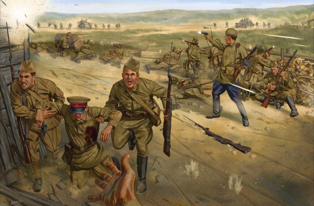 Боевые действия были нетипичны для начала войны