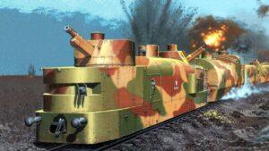 Бывший польский бронепоезд тайно ушел из Бреста