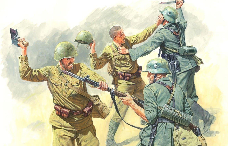 Обучение самообороне без оружия входило в программу подготовки.