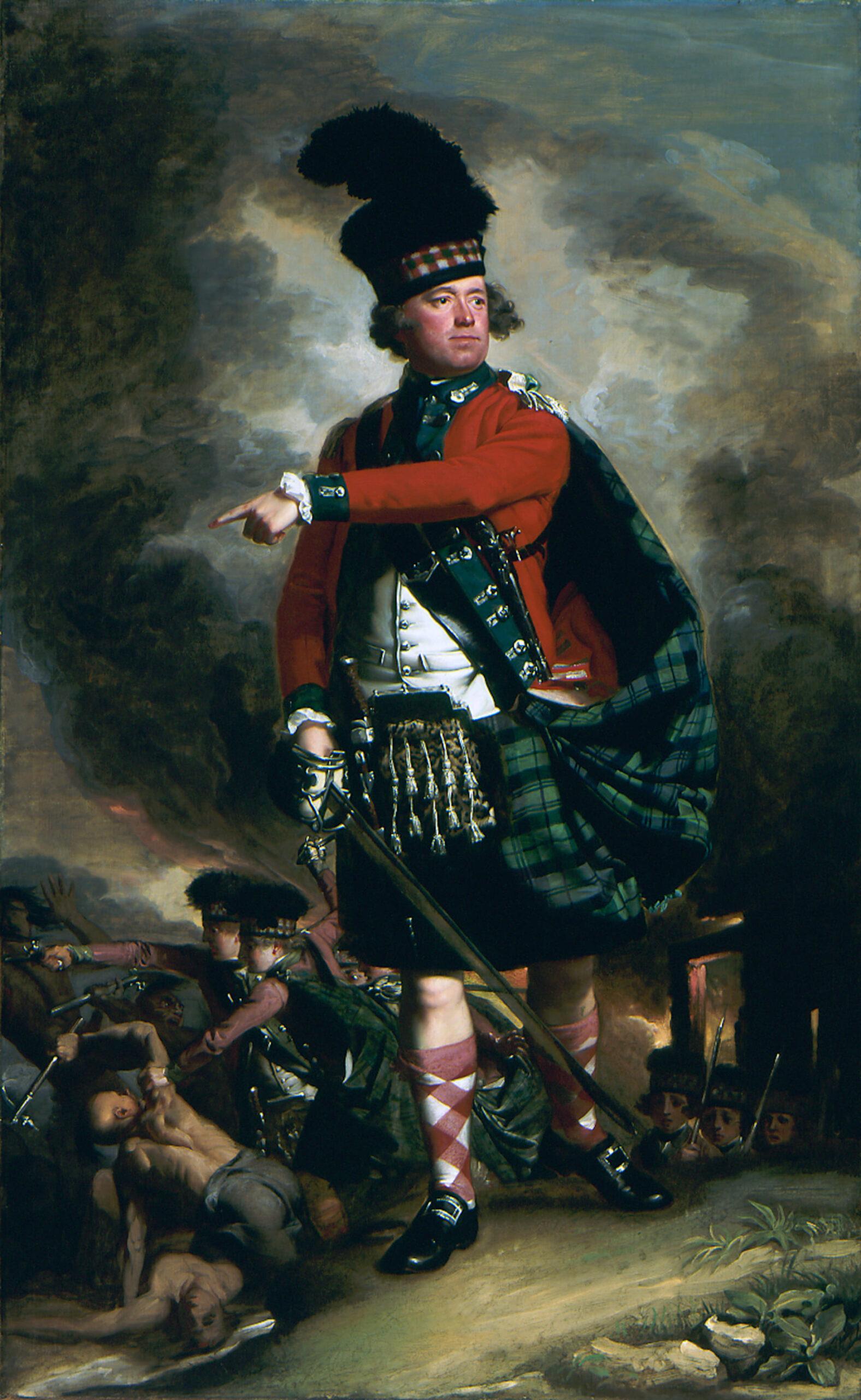 Шотландскому коменданту замка предстояло решить серьезную задачу.