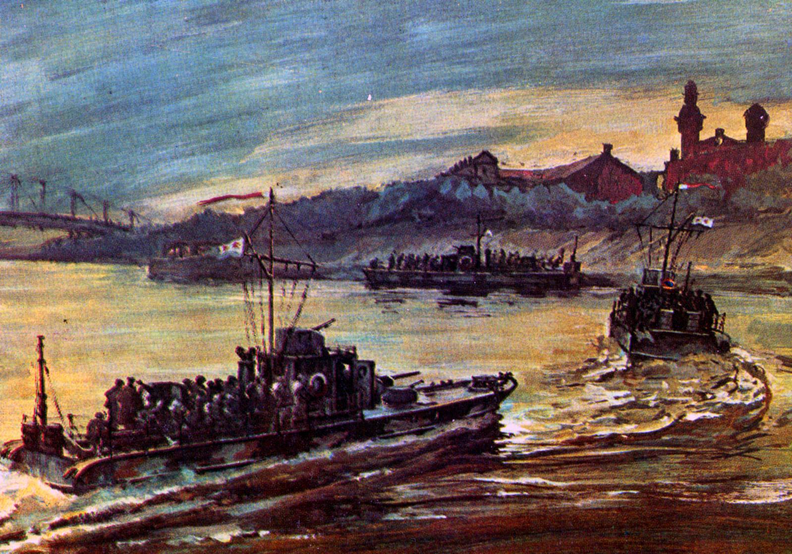 Морская пехота тренировалась десантироваться с катеров