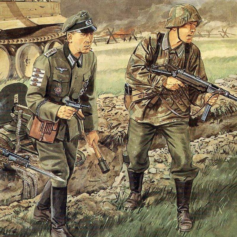 Танковая группа Гудериана значительно замедлилась на пинском направлении