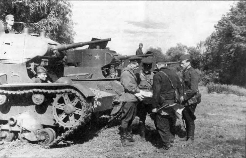 Т-26 был основным танком 22 танковой дивизии