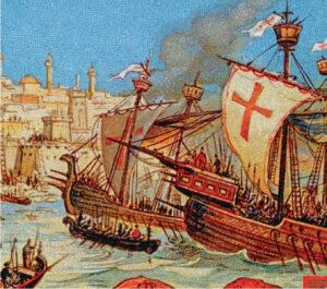 Флотилия тамплиеров направилась в Адриатику