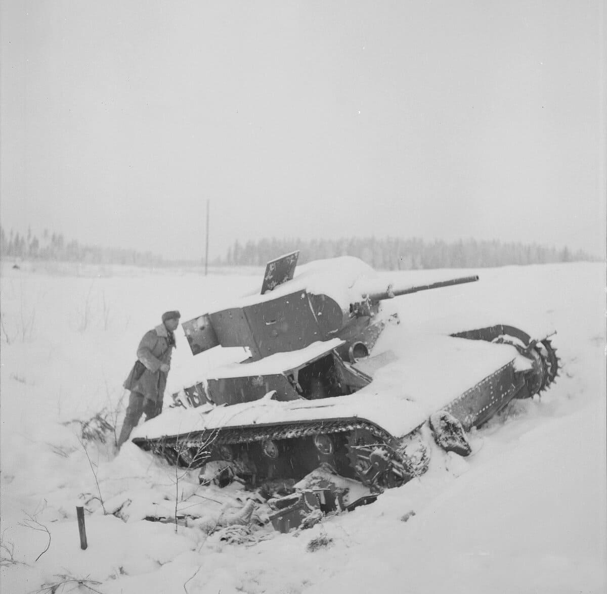 В финскую компанию бригада понесла потери
