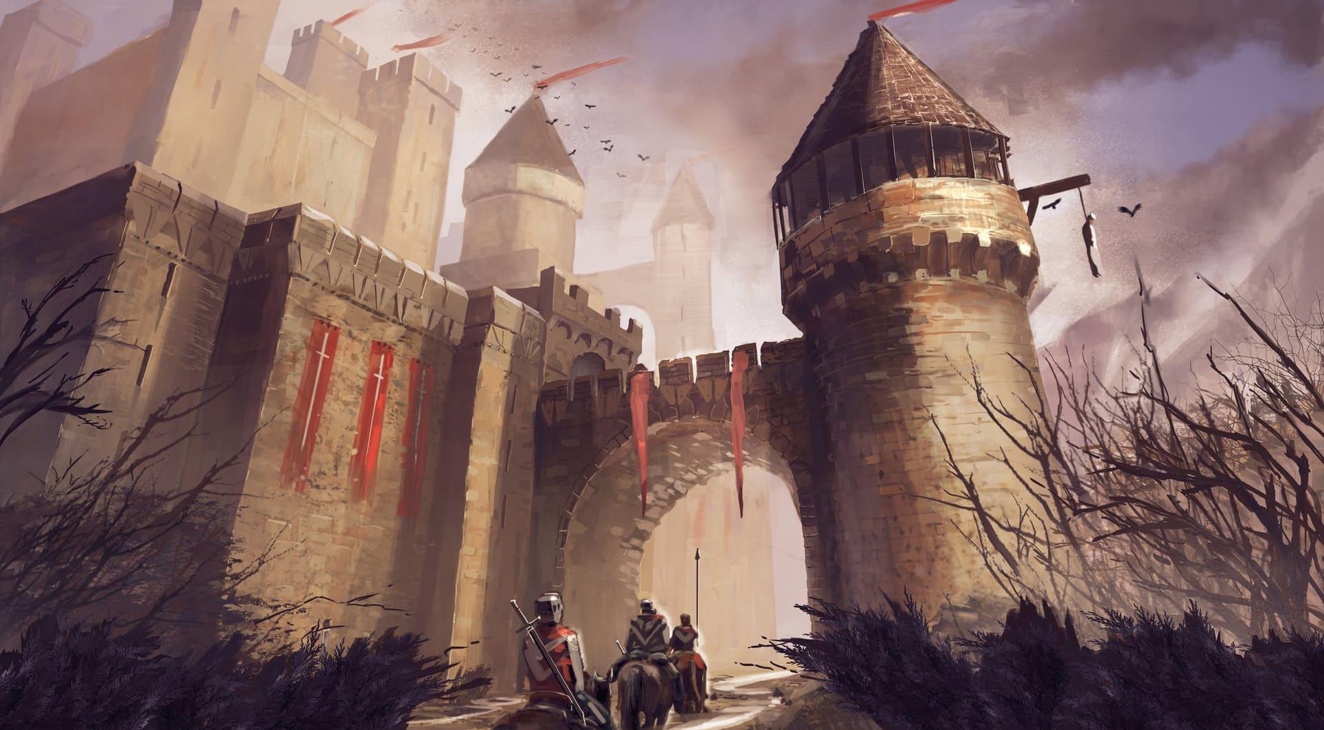 Доставить сокровища требовалось в замок, возводимый в землях ВКЛ