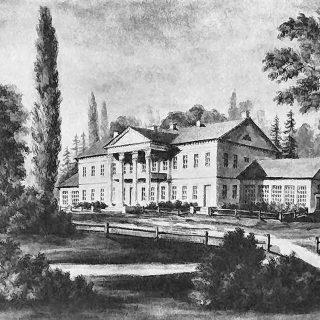 Имение Дукора в 18 веке
