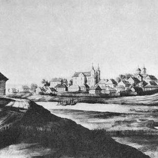 Местечко Мотоль в 16 веке