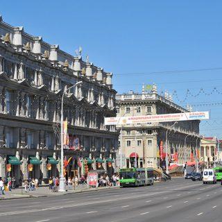Сталинское барокко Минска