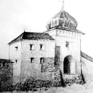Въездная башня Старого замка