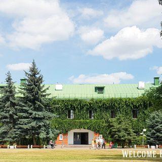 Вход в музей обороны Брестской крепости