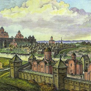 Полоцк в 12 веке