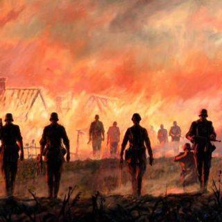 Сожжение деревни