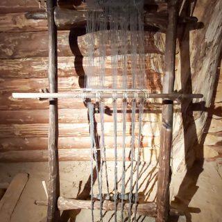 Станок для изготовления нити из шерсти