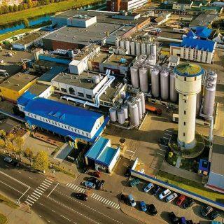 Комплекс завода Лидское пиво