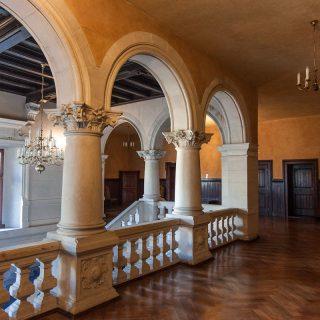 Интерьер замка в Гродно