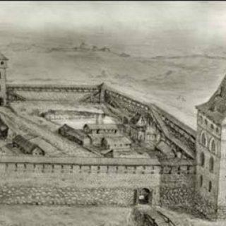 Кревский замок времен Ягайло