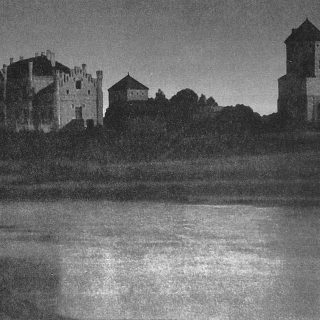 Любчанский замок в начале 20 века