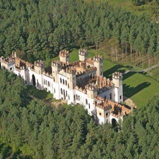 Коссовский замок до реконструкции