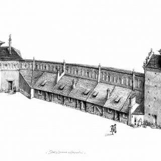 Старый замок при великом князе Владиславе