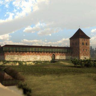 Крево замок реконструкция