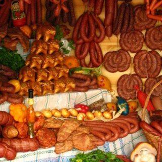 Мотольские колбасы