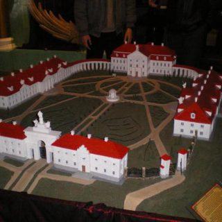 Ружаны макет дворца