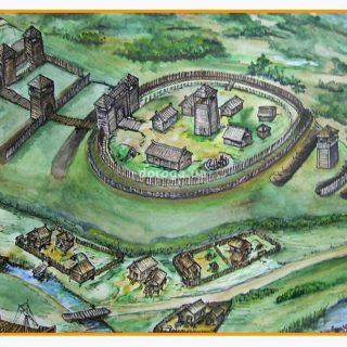 Рогачев 11 век реконструкция