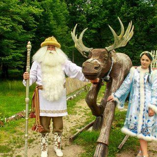 Дед Мороз ждет и зимой и летом