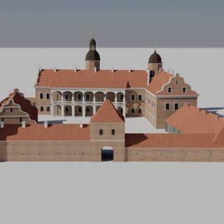 Макет реконструкции Быховского замка