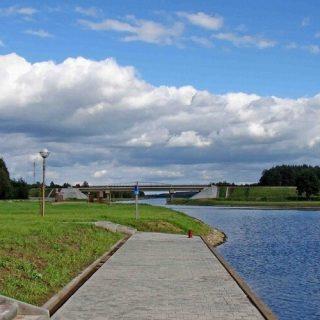 Августовский канал, набережная