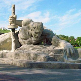 Скульптура Жажда