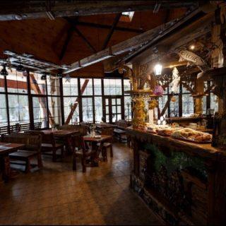 Кафе в Беловежской пуще