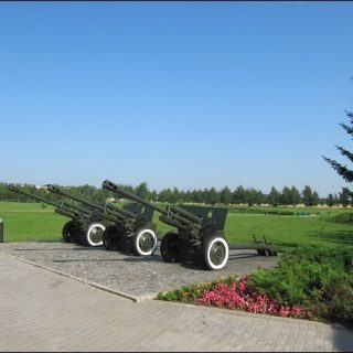 Выставка артиллерийской техники