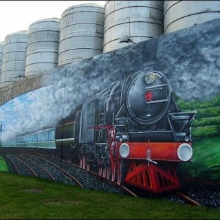 Граффити на улицах Гомеля