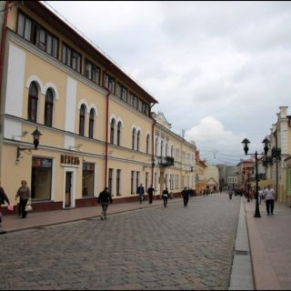 ул. Советская в Гродно