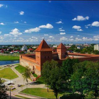 Лидский замок панорама