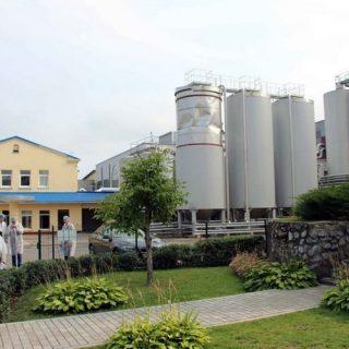 Лидское пиво,внутренний двор
