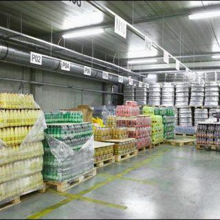 Склады завода Лидское пиво