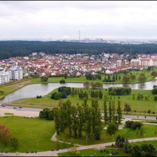 Минск панорама