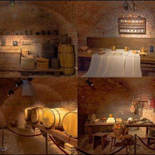 Экспозиция Мирского замка, подвалы