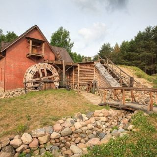 Наносы-новоселье водяная мельница