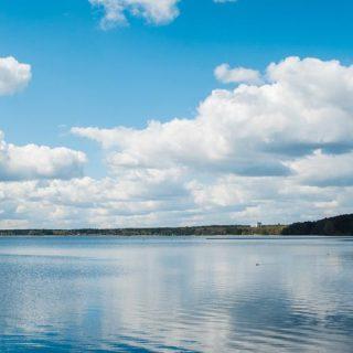 Панорама озера Нарочь