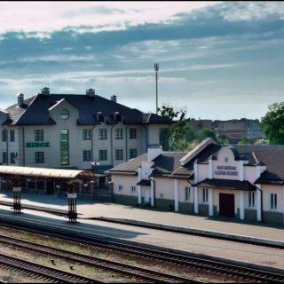 ЖД вокзал в Пинске