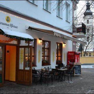 Улицы Пинска зимой