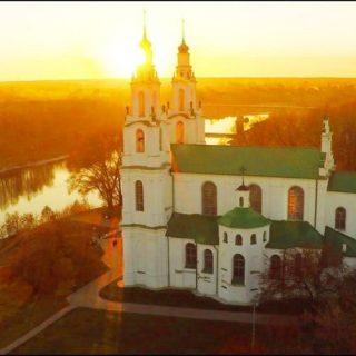 Софийский собор с высоты птичьего полета