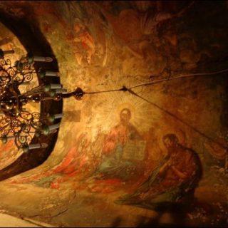 Потолки Спасо-Ефросиньевского монастыря